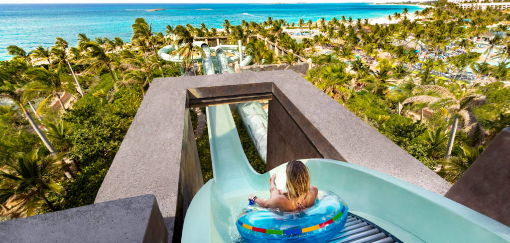 water slides at atlantis bahamas