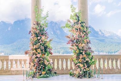 Wedding venue castel cantacuzino