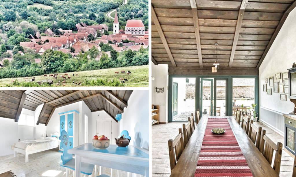 traditional houses romania