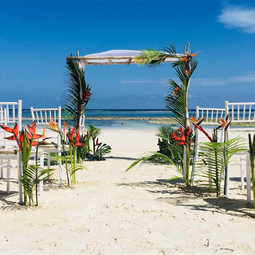 nunta pe plaja in kenya