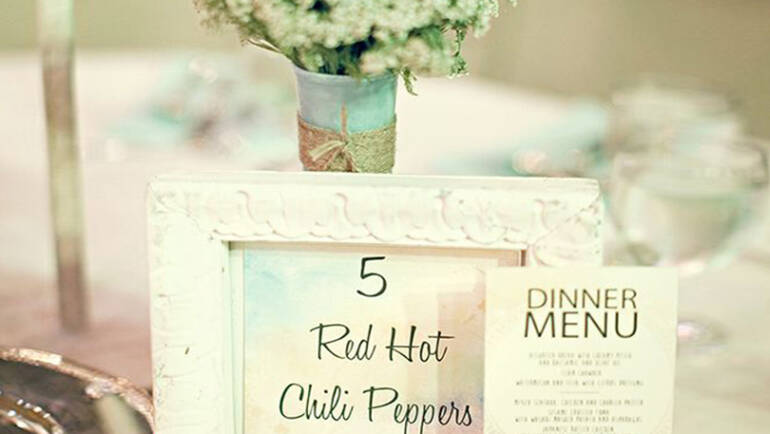 Creative ideas for your wedding